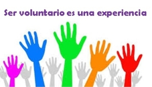 ser voluntario es una experiencia